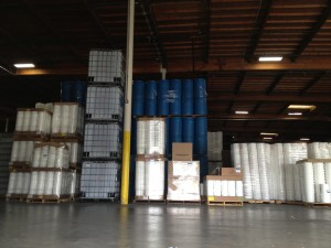 Buying water containers - 55 gallon food-safe from Containers Unlimited in Hayward