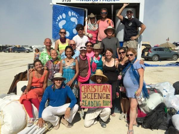 2014 Christian Science at Burning Man group