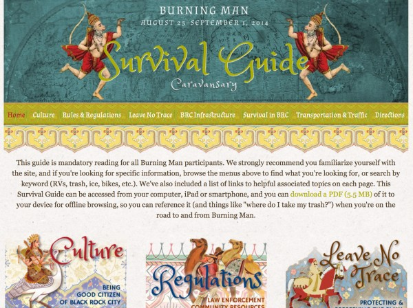 Burning Man 2014 Survival Guide
